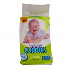 VELONA CUDDLES SUPER DRY SMALL 4 PCS
