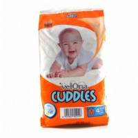 VELONA CUDDLES SUPER DRY MEDIUM 4 PCS