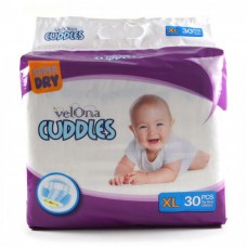 VELONA CUDDLES SUPER DRY XL 30 PCS