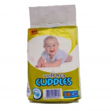 VELONA CUDDLES SUPER DRY NEW BORN 4 PCS