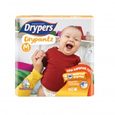 DRYPERS DRYPANTZ MEDIUM 60PCS