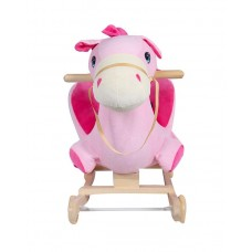 HORSE ROCKING ANIMAL SOFT TODDLER - PINK