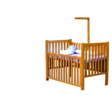 "BABY WOOD COT 52""*30"""
