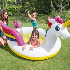 INTEX MYSTIC UNICORN SPAY POOL