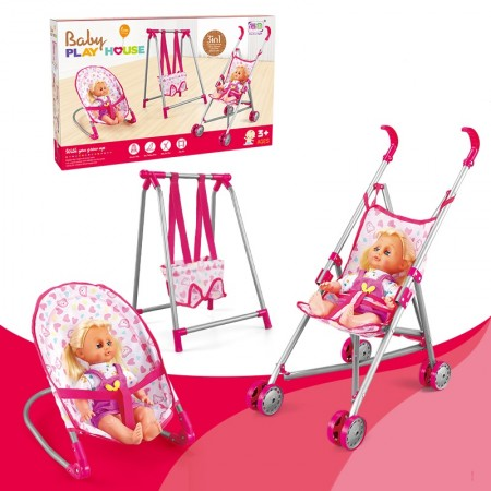 BABY PLAY HOUSE 4 IN 1
