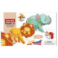 ASSEMBLE PUZZLE TOY -133 pcs