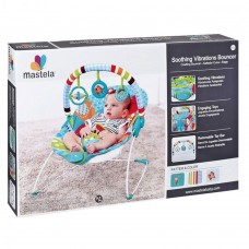 Mastela Soothing Vibration Baby Bouncer