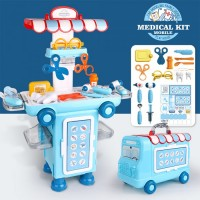Mobile Dentist Doctor Bus Stall Set