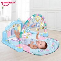 Huanger 3 in 1 Piano Infant Activity Play Mat