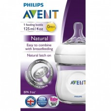 PHILIPS AVENT NATURAL FEEDING BOTTLE 4oz