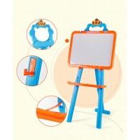 Little Painter Learning Magnetic Board, White/Chalk Board