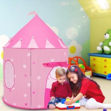 Prince Princess Castle Kids Play Tent -Foldable Playhouse