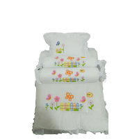 BABY QUILTS WITH 2 ROLLER + 1 SQUARE PILLOW