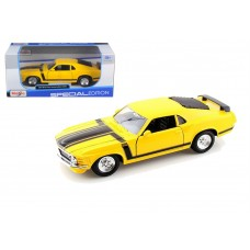 Maisto  1970 Ford Mustang Boss 302 Yellow
