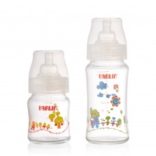 WIDE NECK a-33 GLASS FEEDING BOTTLE