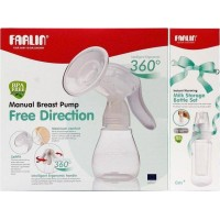 FREE DIRECTION MANUAL BREAST PUMP