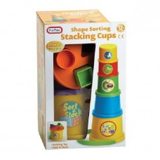 Shape Sorting Stacking Cups Baby Toys 12months+