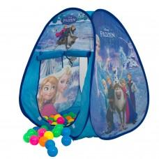 Kids Pop Up Princess Frozen Castle Tent Playhouse