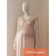 FREE ARM MATERNITY FROCK