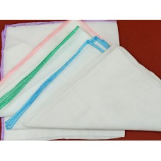 NAPPY BANDAGE CLOTH 18 X 18 PLAIN