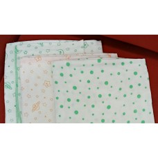 """BABY  WRAPPER 36"""" X 36 """" - 3 PCS PACK"""