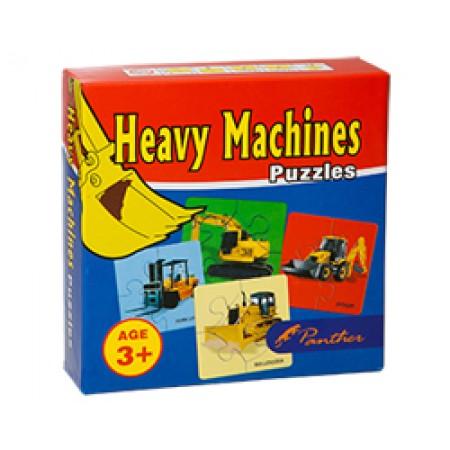 HEAVY MACHINERY PUZZLE