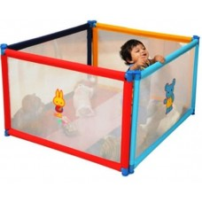 POCO CASA 4 PANEL PLAYPEN+MATTRESS