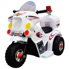 6v Police Rechargeable Ride on Bike