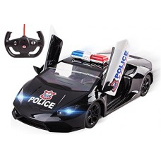 Police Car RC 5 Ch Large 1:14