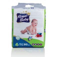 ROYAL BABY MAXI 80 PCS