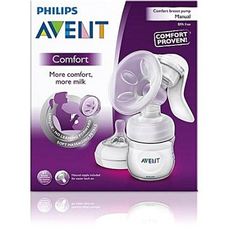 PHILIPS AVENT NATURAL MANUAL BREAST PUMP