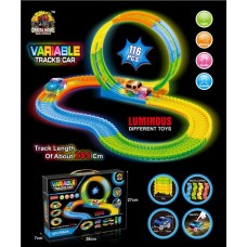 VARIABLE TRACKS CAR