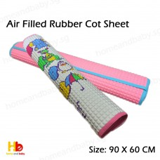 Air Filled Rubber Cot Sheet - PRINTED