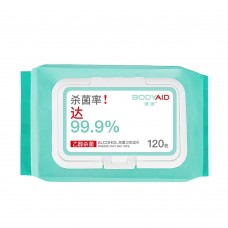 SANITIZER HAND WIPE 120 PCS
