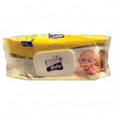 ROYAL BABY WET WIPE 72 PCS