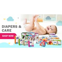 DIAPERS & CARE