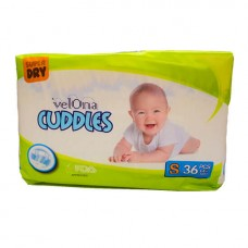 VELONA CUDDLES SUPER DRY SMALL 36 PCS