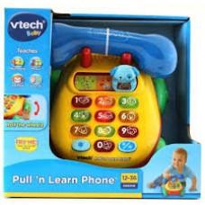 VTECH BABY PULL' N LEARN PHONE