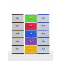 5 Tier Plastic Drawer
