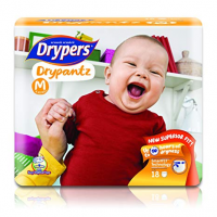 DRYPERS DRYPANTZ MEDIUM 18PCS