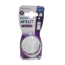 PHILIPS AVENT NATURAL THICK FEED TEATS 6M+