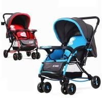 BAOBAOHAO 720 W Premium Rocking Baby Stroller