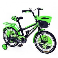 Tomahawk Kids' Bicycle - Alloy Rim - Green and Black- 16